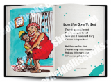 Jamaica Greeting Cards:  Love You Gone To Bed