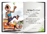 Jamaica Greeting Cards:  Be Happy Tho' it Hard