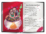 Jamaica Greeting Cards:  Love You Like Cook Food