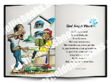 Jamaica Greeting Cards:  Don't Say A Word