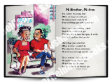 Jamaica Greeting Cards:  Mi Brother Mi Fren